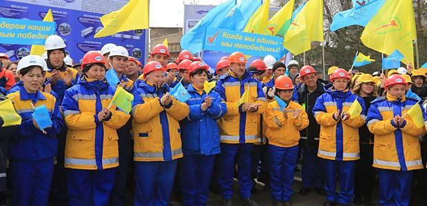 CNSM protestează împotriva abuzurilor față de sindicatele din Kazahstan