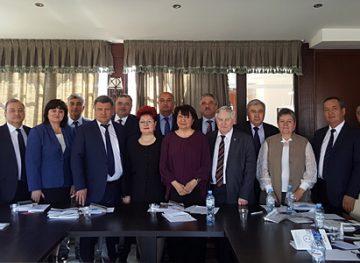 В Тбилиси прошел IV внеочередной Съезд Международной конфедерации нефтегазстройпрофсоюзов