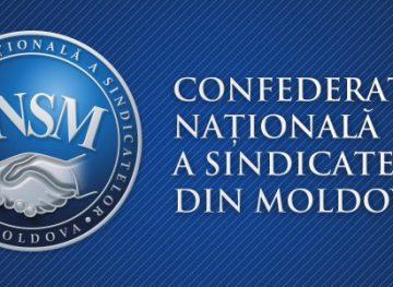 DECLARAȚIA Congresului III al Confederației Naționale a Sindicatelor din Moldova cu privire la situația social-economică din țară