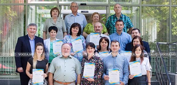 16 профсоюзникам вручили сертификаты об окончании курса «Подготовка инструкторов»