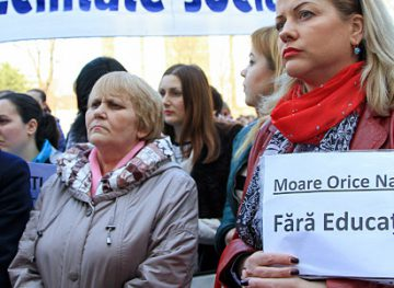 Profesorii renunță la proteste, după ce li s-au dat asigurări că vor avea salarii mai mari