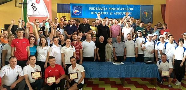 Состоялась VII Спартакиада работников банковского сектора и страхования