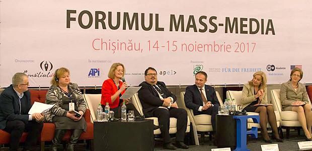 Problemele presei, discutate la Forumul Mass–Media 2017