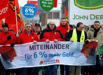 Забастовки в Германии по призыву крупнейшего в Европе профсоюза