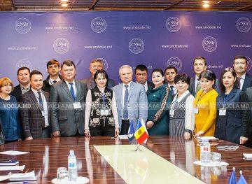 Профсоюзники из Узбекистана изучили опыт молдавских коллег