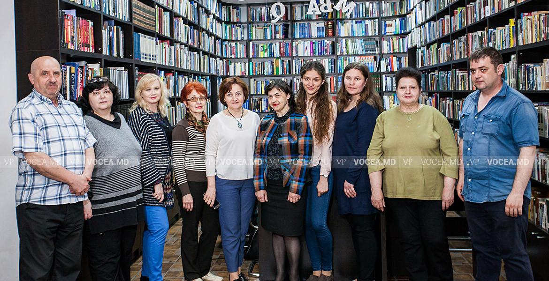 Призыв к солидарности школьных библиотекарей в Молдове