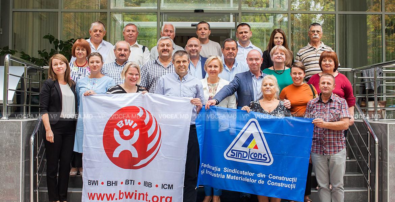 Проекты по обмену опытом между профсоюзниками из Молдовы и Швеции