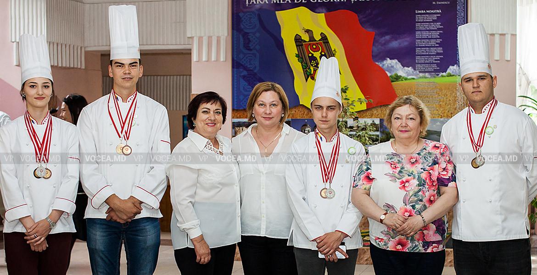 Золото, серебро и бронза для Молдовы на международном конкурсе кулинарного искусства
