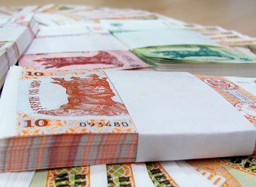 Creştere salarială de 9,6 la sută în sectorul real al economiei
