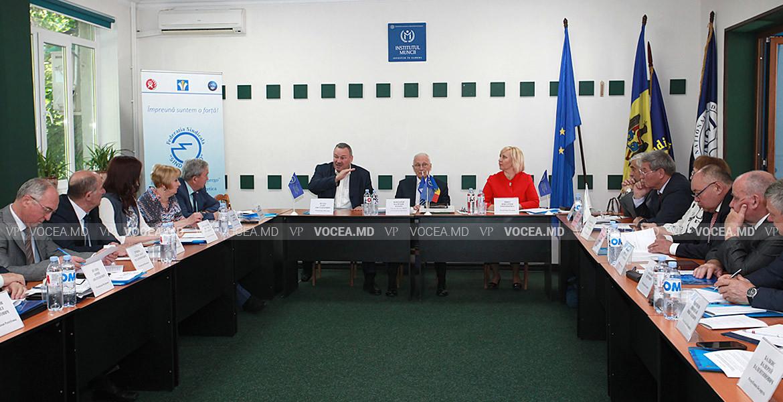 Președinți de sindicate din domeniul energetic din țările CSI, la Chișinău