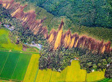 Cutremur devastator lângă insula japoneză Hokkaido. Fotografie