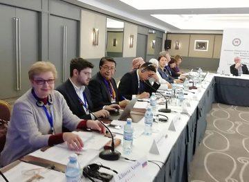 Schimb de practici inovative și experiență sindicală, la Baku