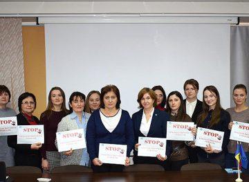 Membrii FSCM sunt intoleranți față de violența împotriva femeilor și spun stop acestei pandemii