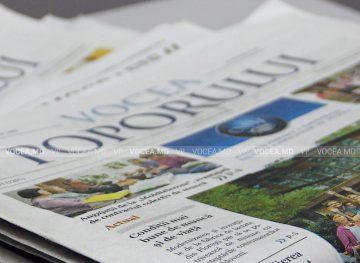 Газете «Vocea poporului» 30 лет! Доступная трибуна для всех членов профсоюза