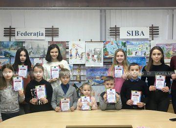 Diplome şi premii de la Federaţia SIBA pentru copiii talentaţi