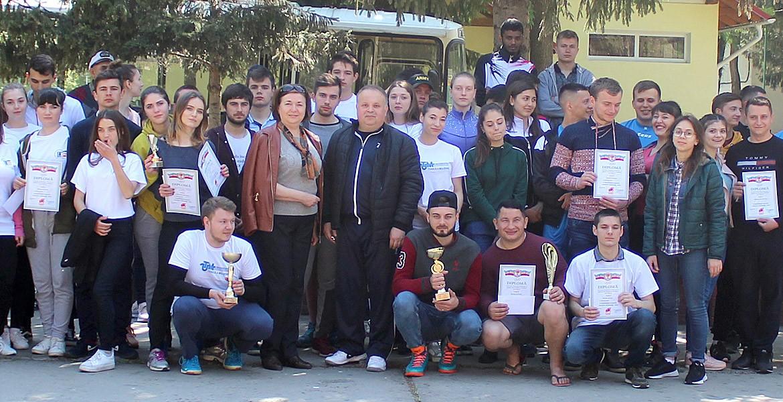 Studenții sindicaliști, abili și în sport