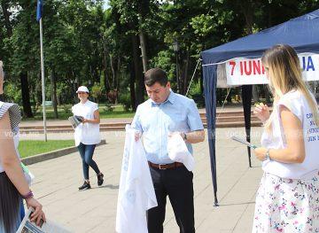 Профсоюзы провели кампанию для молодого поколения