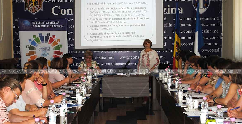 Sindicaliștii din Rezina au luat act de unele subtilități legislative