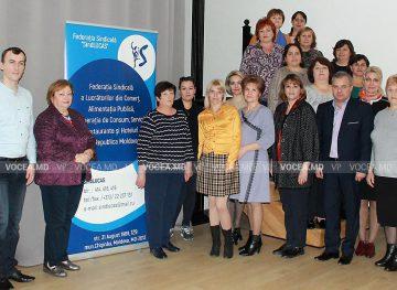 """Organizațiile-membre ale Federației """"SindLUCAS"""" se pregătesc de alegeri"""