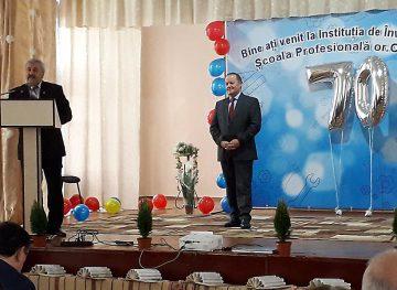 Şcoala Profesională din oraşul Orhei a împlinit 70 de ani de la fondare