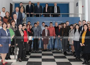 Новое начало для Профсоюзной школы Молдовы