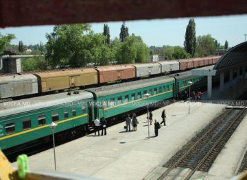 Движение поездов через железнодорожный узел Бэлць приостановлено на неопределенный срок