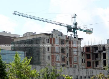 Lucrările în construcții, în scădere, mai ales din cauza pandemiei