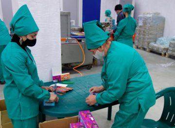 Заключенные тюрьмы Руска производят жевательную резинку
