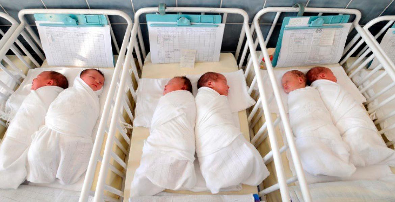 Число новорожденных детей в Республике Молдова сокращается