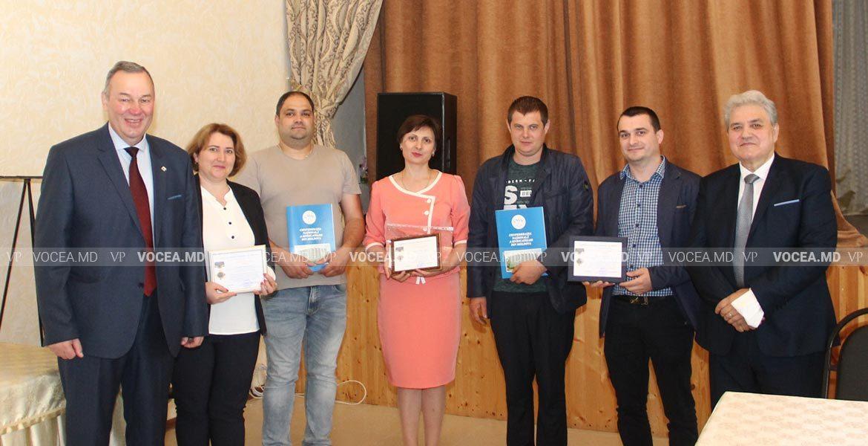 Ряд профсоюзников Профессионального училища № 9 получили награды