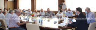 CNSM ‒ первая организация, которую посетил Марчел Спэтарь в качестве министра труда и соцзащиты