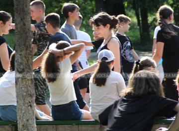 Дети поделятся впечатлениями от каникул