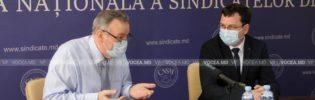 CNSM, prima instituție vizitată de Marcel Spătari, ministru al Muncii și Protecției Sociale