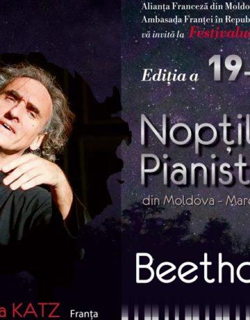 """Festivalul Internațional """"Nopțile pianistice din Moldova – Marea Neagră"""""""